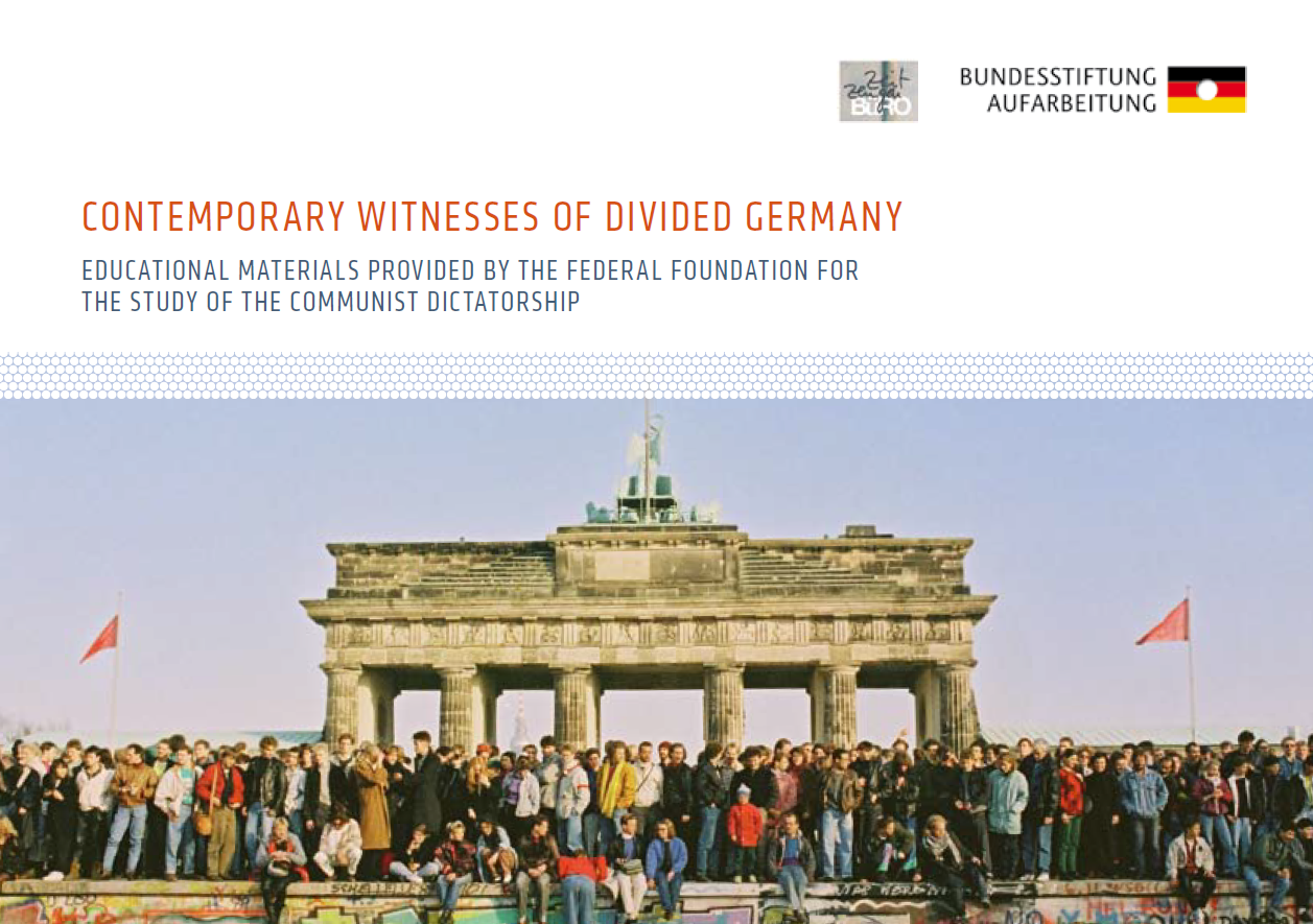 Publikation Contemporary Witness of Divided Germany